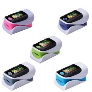 Blood Oxygen Monitor Finger Pulse Oximeter Oxygen Saturation Monitor 2